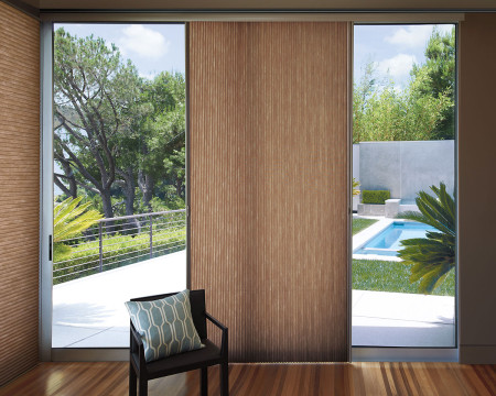 Hunter Douglas Vertiglide Honeycomb Shades